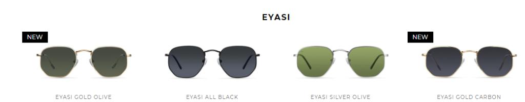Gafas de sol modelo EYASI de Meller Brand