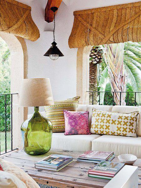 Decoración terraza estilo exótico - Ideas decoración terrazas estilo balinés