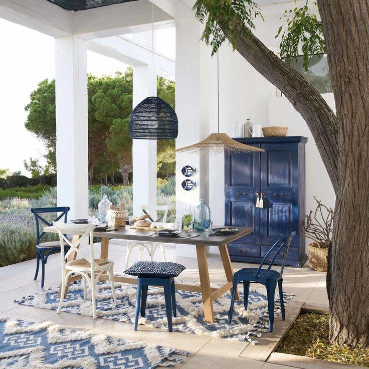Ideas decoración terrazas estilo ibicenco - Decoración terraza estilo mediterráneo