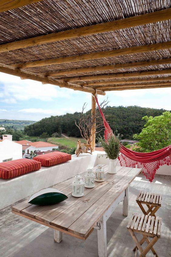 Ideas decoración terrazas rústicas- Decoración terraza estilo mediterráneo