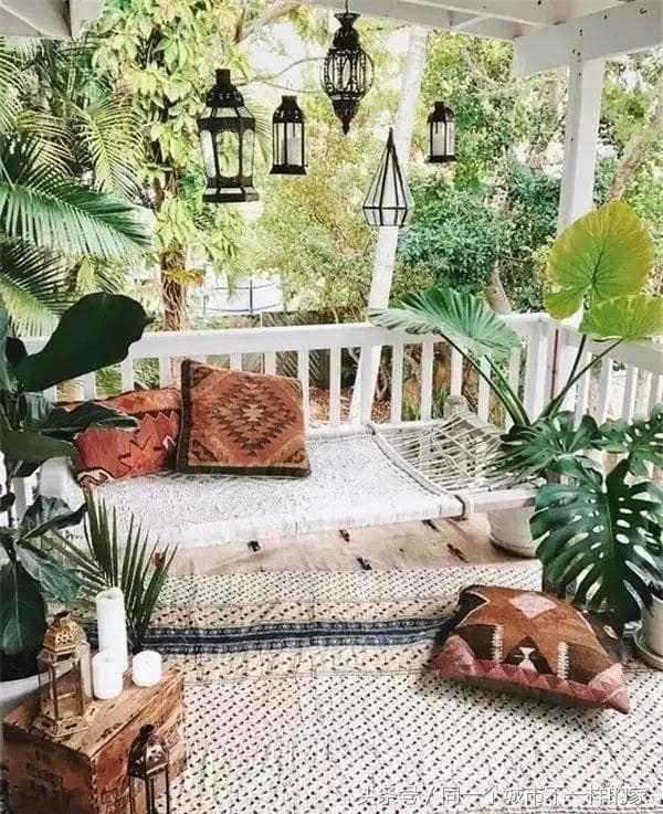 Ideas decoración terrazas tropicales - Decoración terraza estilo tropical
