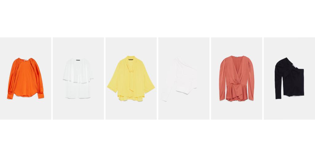 Top / blusa / camisa invitada perfecta Zara