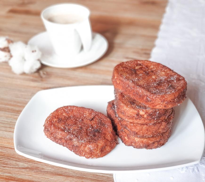 Torrijas receta - cómo hacer torrijas con natillas