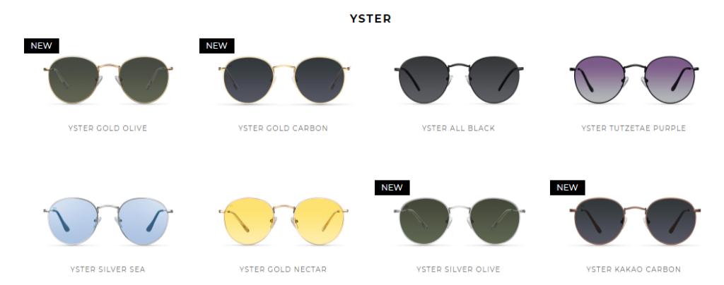 Gafas de sol modelo YSTER de Meller Brand